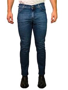 Jeans Denim Sartoriale Uomo B-Settecento
