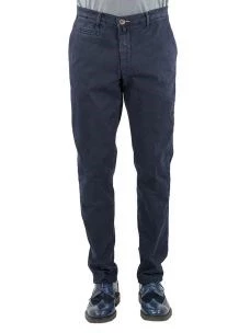 Pantalone Chino Uomo Stretch-Made in Italy