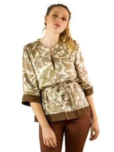 Camicia Cashmere Taffetà