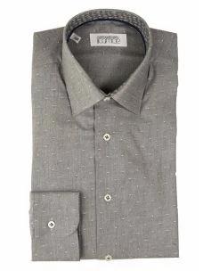 Camicia Sartoriale Cotone  Twille - Interno Collo a Contrasto