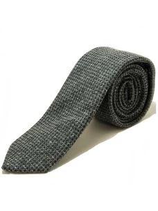 Cravatta Artigianale-in Seta e Lana-7 cm-Made in Italy