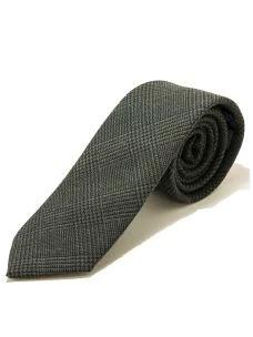 Cravatta Artigianale in Pura Lana-7 cm-Made in Italy