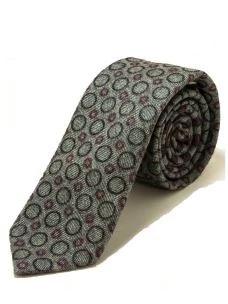 Cravatta Artigianale in Puro Cotone - 7 cm- Made in Italy