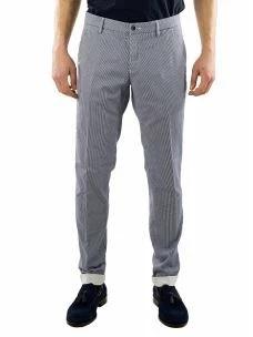 Pantalone Chino Uomo Microfantasia Pied de Poule