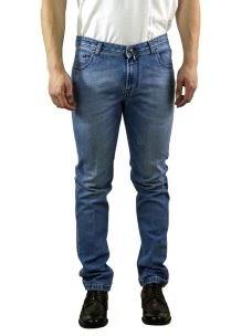 Jeans Uomo B-Settecento Blu Chiaro-Made in Italy