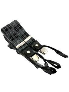 Bretelle Uomo Paolo Da Ponte 3 clip + Bottoni - Made in Italy