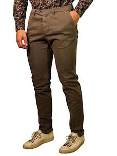 Pantalone Sartoriale Uomo Cotone Stretch B-Settecento