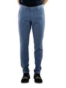 Pantalone Uomo Microfantasia Occhio di Pernice-Made in Italy