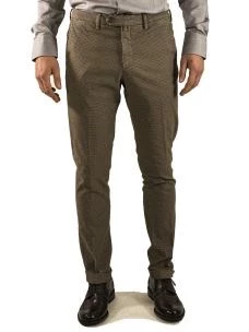 Pantalone Chino Uomo B-700 Cotone Stretch