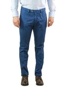 Pantalone Chino Uomo Principe di Galles-Made in Italy