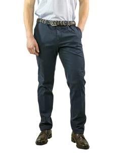 Pantalone Artigianale Uomo Chino Cotone Stretch-Made in Italy
