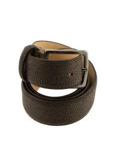 PAOLO DA PONTE Cintura in pelle martellata PI940 Made in Italy