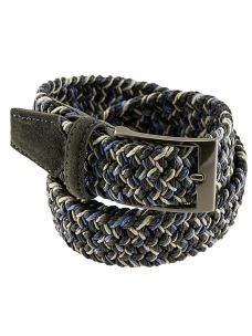 Cintura Uomo Intrecciata Elasticizzata in Cotone Made in Italy