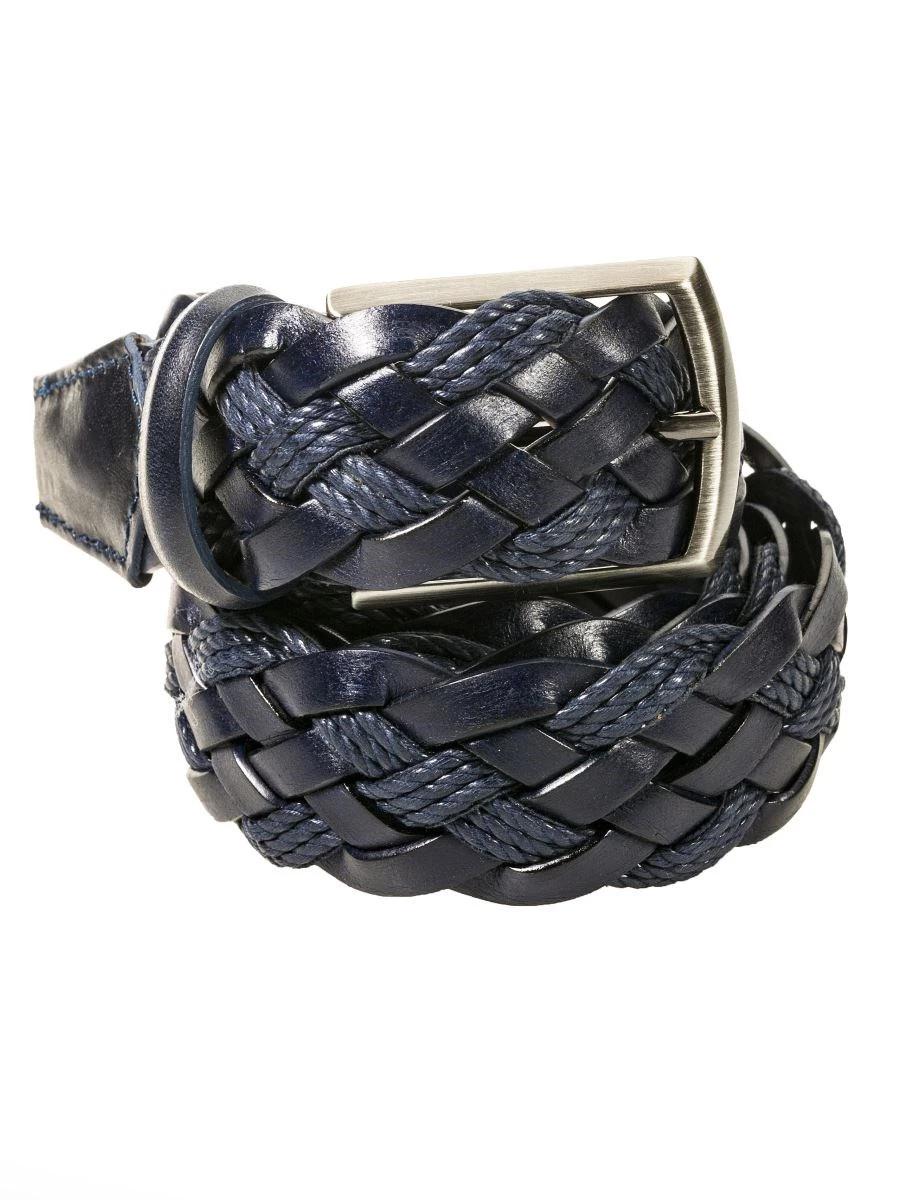 Cintura Intrecciata Uomo Paolo Da Ponte Rigenerato e  Cotone