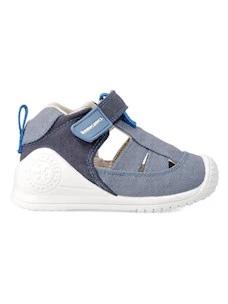 Biomecanics sandalo a gabbia di tela da bambino