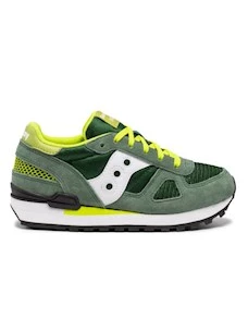 SAUCONY SHADOW GREEN/WHITE