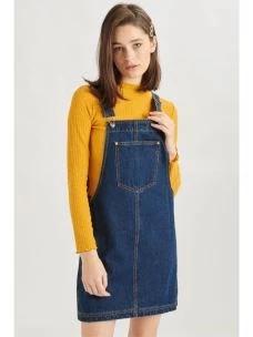 Salopette jeans donna 24COLOURS