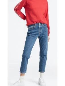 Jeans 501 CROP JEANS JEVE STONEWASH LEVI'S