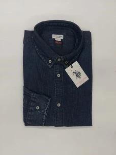 Camicia uomo Jeans botton & down slim fit U.S.POLO