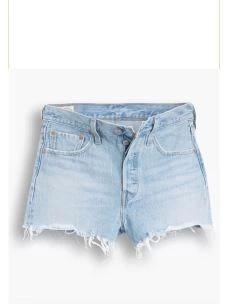 Short jeans 501 taglio vivo LEVI'S
