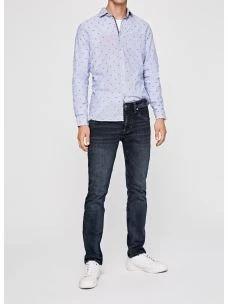 Jeans uomo regolare lavaggio scuro PEPE JEANS