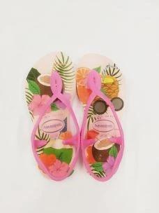 Sandalo girl con stampa floreale Havaianas
