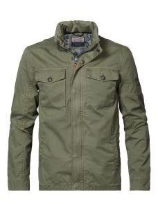 Giacca field jacket PETROL
