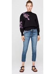 Jeans donna vita media gamba diritta PEPE JEANS
