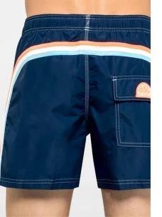 """Boardshort bs rb elastic waist 14"""" SUNDEK"""