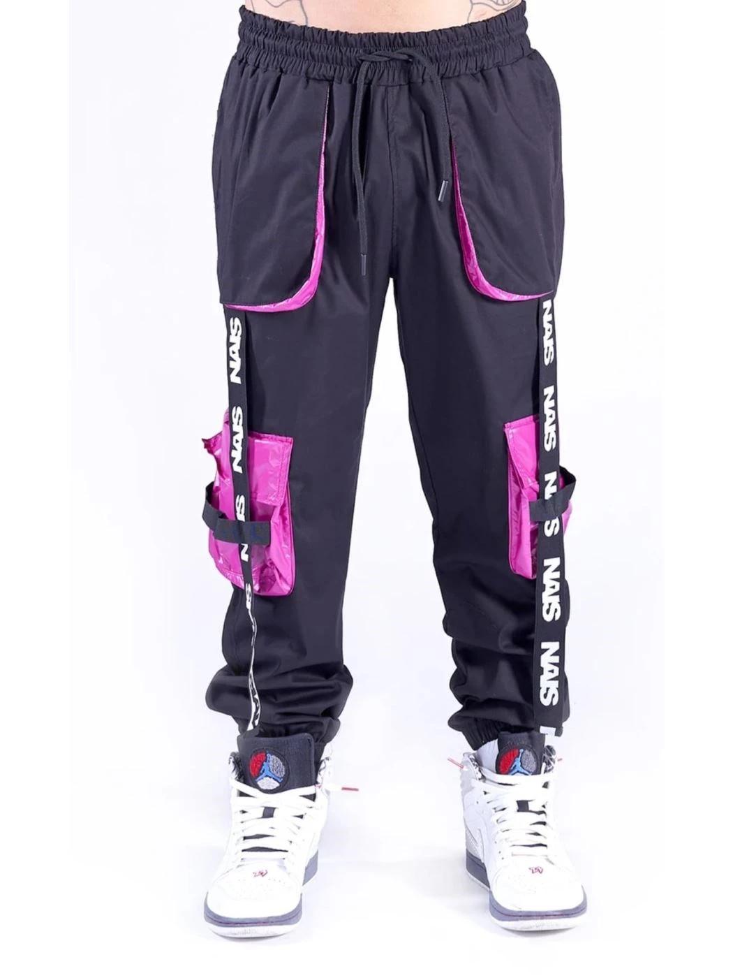 Pantalone Cargo magenta NAIS