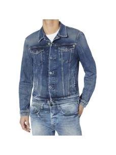 Giacca jeans uomo slim corta PEPE JEANS