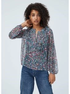 Camicia floreale donna PEPE JEANS