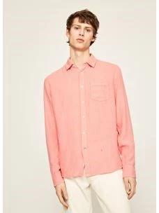 Camicia in lino manica lunga PEPE JEANS ADDISON