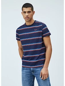 DUNCANY t-shirt rigata uomo PEPE JEANS