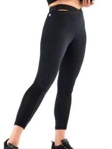 Leggings 7/8 fascia incrocio e trasparenze FREDDY