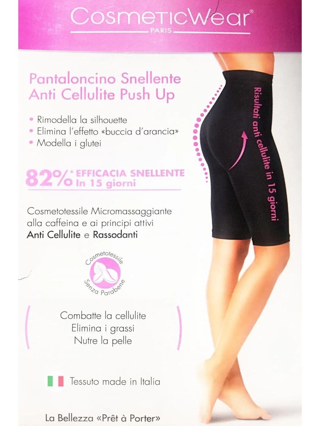 Ciclista a vita alta Snellente Anticellulite Cosmeticwear