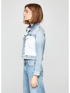 Giacchetto jeans tess mix PEPE JEANS for DUA LIPA