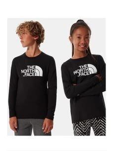 T-shirt jr girocollo manica lunga THE NORTH FACE