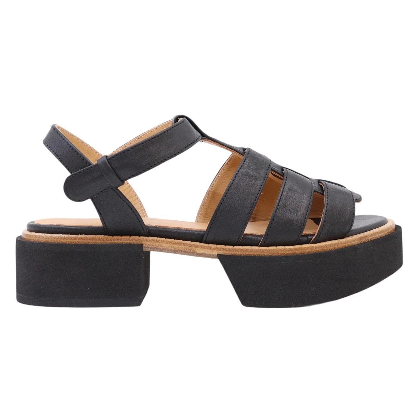 Paloma Barcelo 2072 sandalo da donna in pelle nera