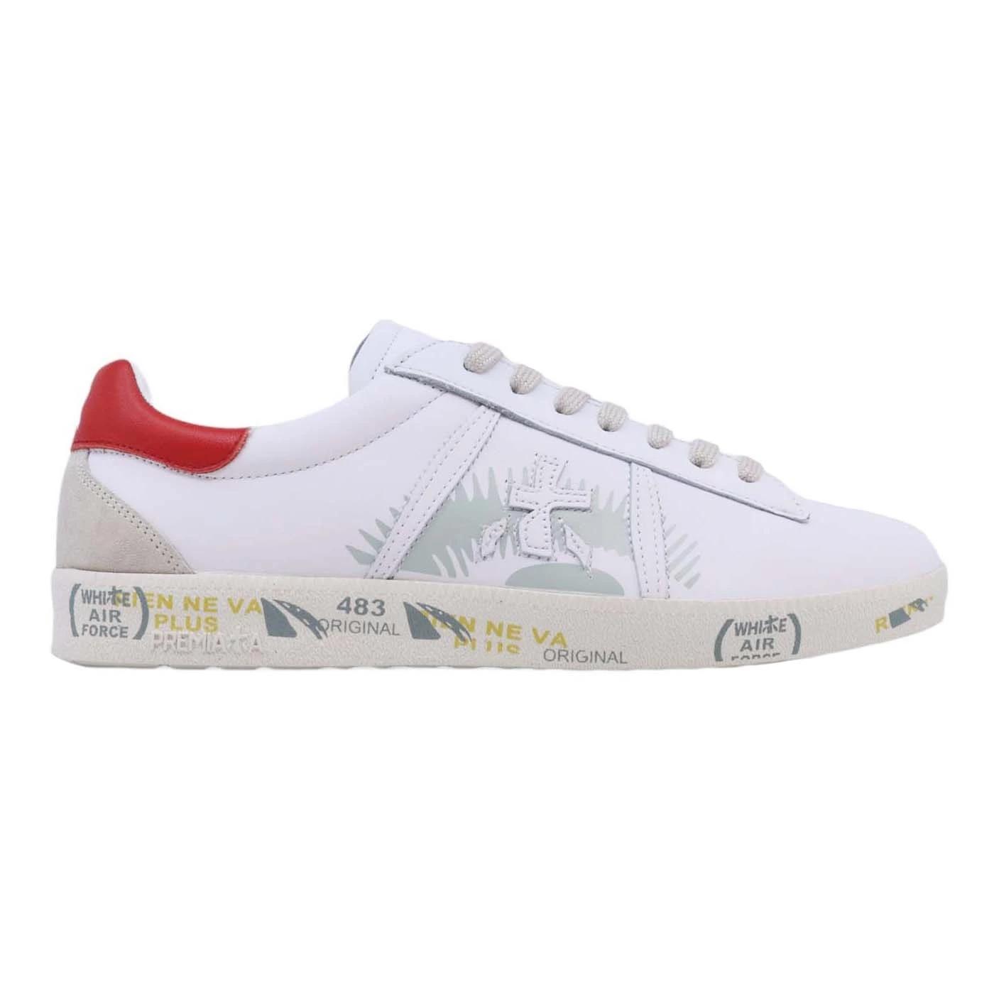 Premiata Andy 5144 sneaker da uomo in bianco