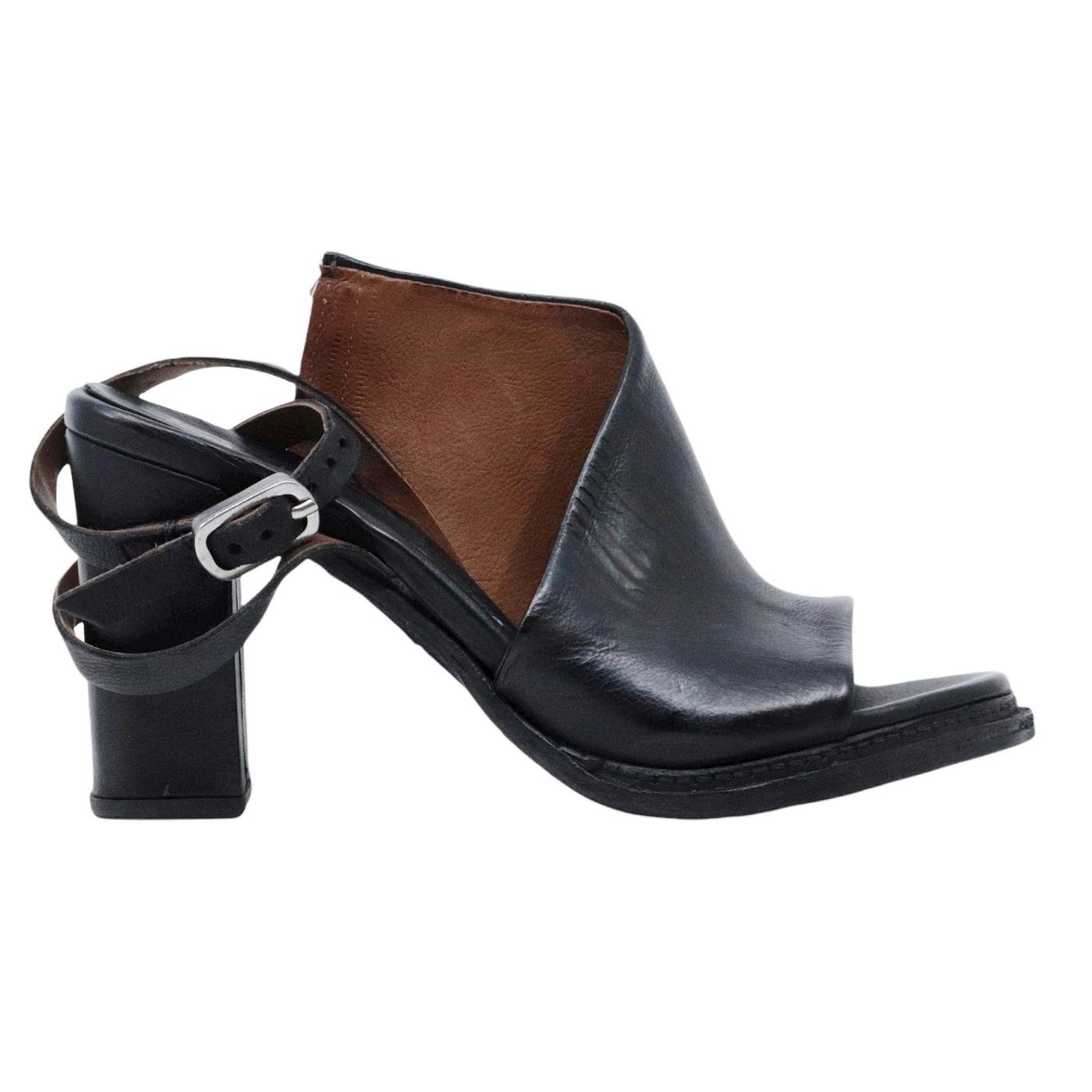 A.S. 98 589034 sandalo da donna in pelle nera