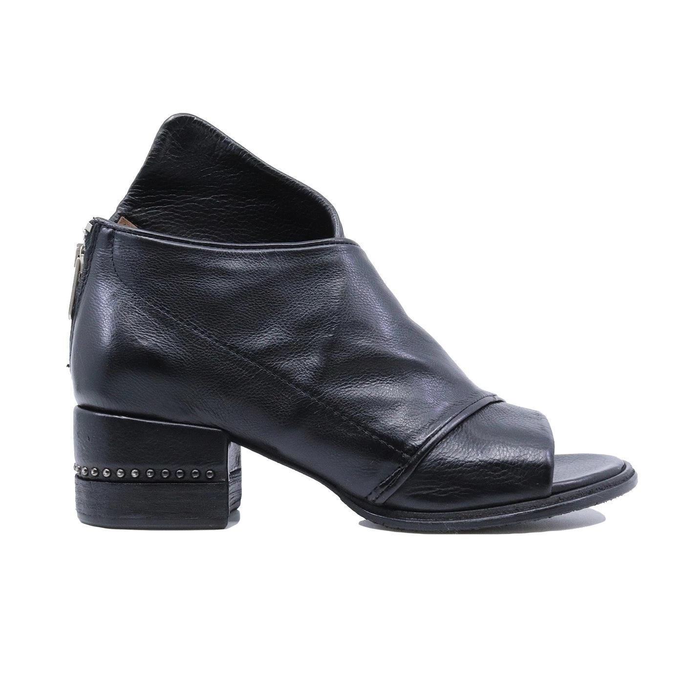 A.S. 98 672016 sandalo da donna in pelle nera