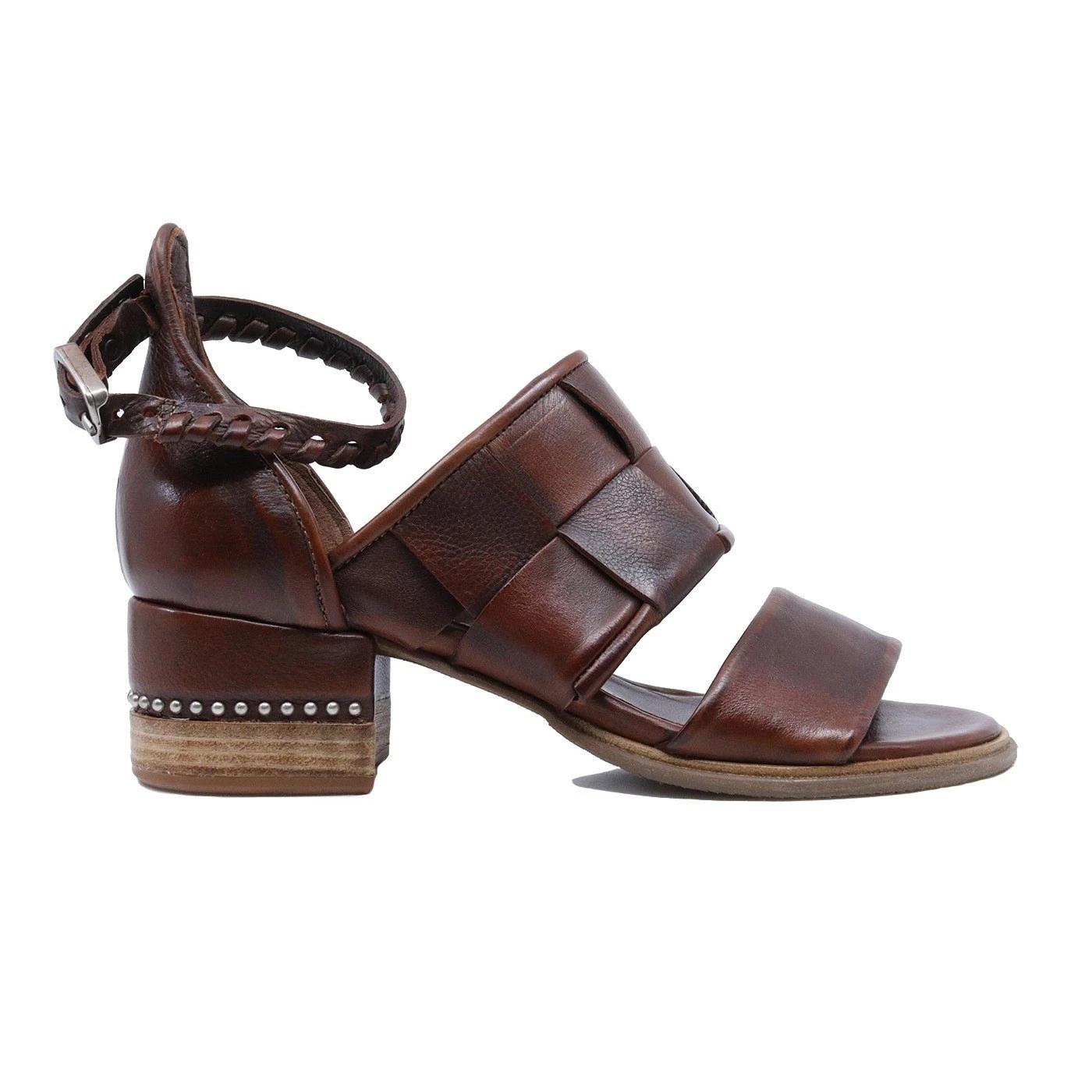 A.S. 98 672021 sandalo da donna in pelle cuoio