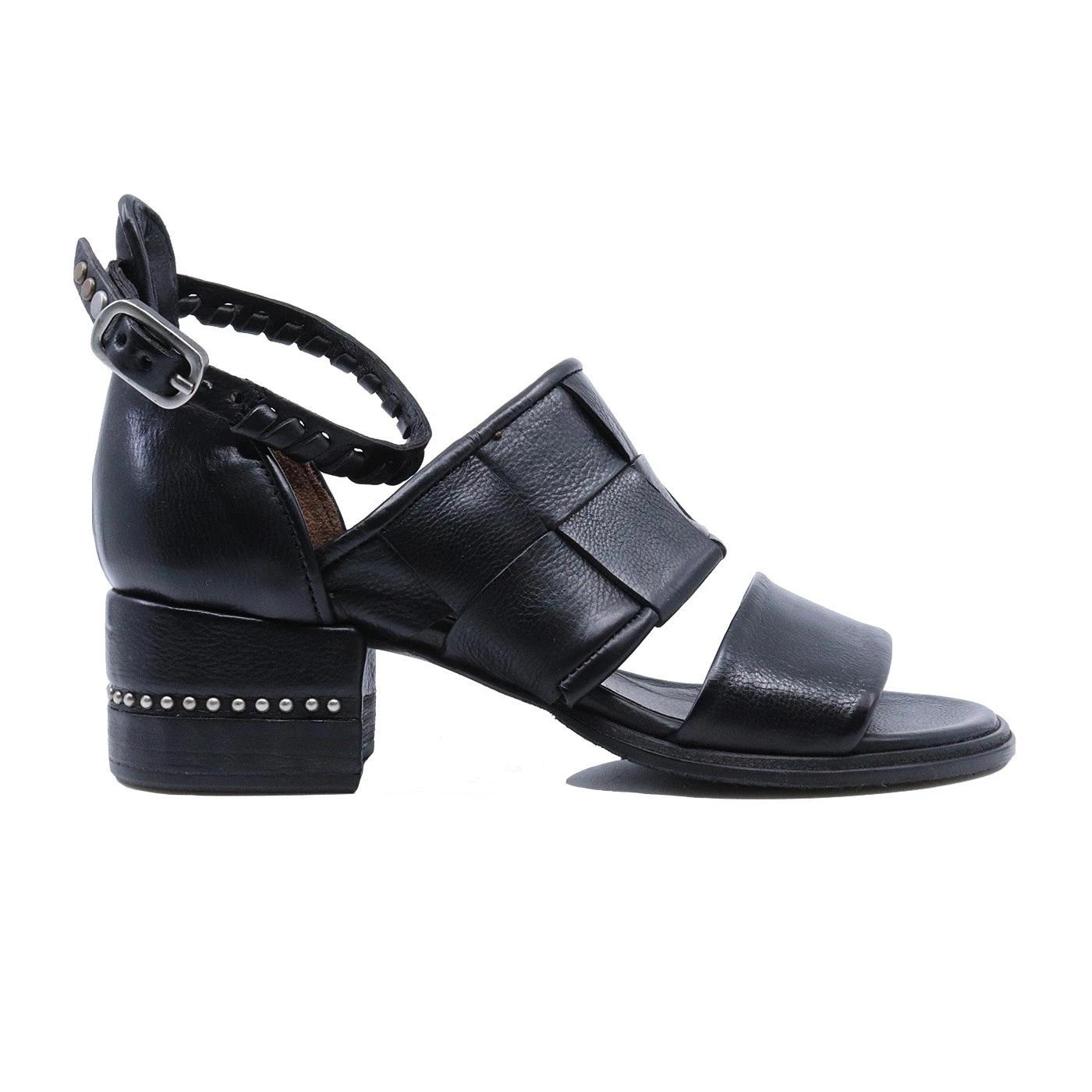 A.S. 98 672021 sandalo da donna in pelle nera