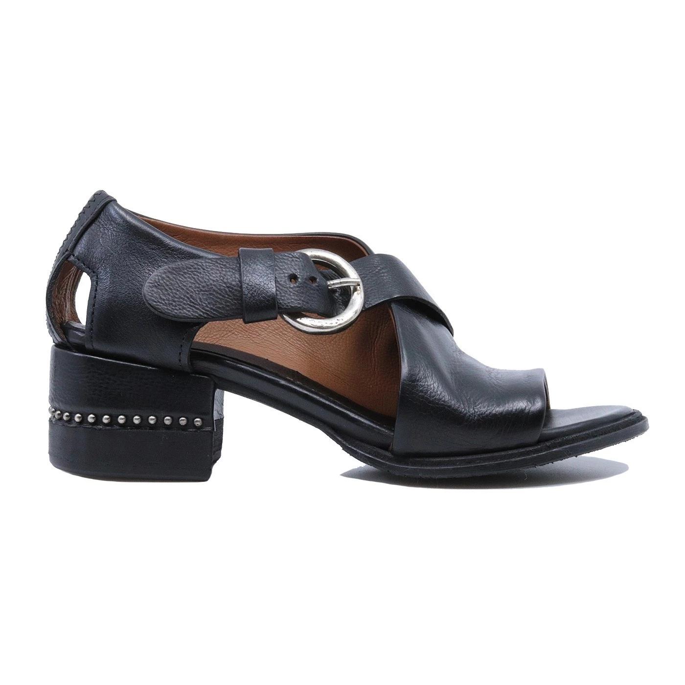A.S. 98 672027 sandalo da donna in pelle nera