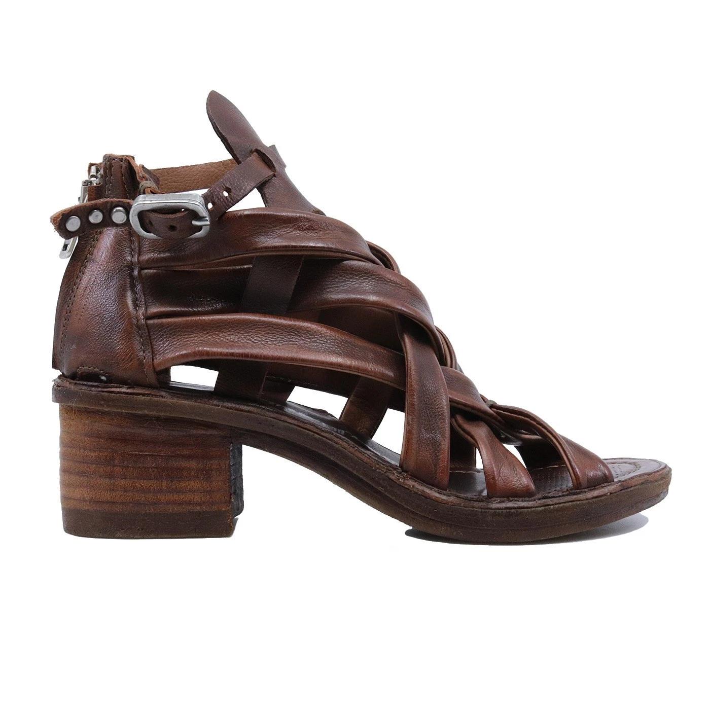 A.S. 98 690033 sandalo da donna in pelle cuoio