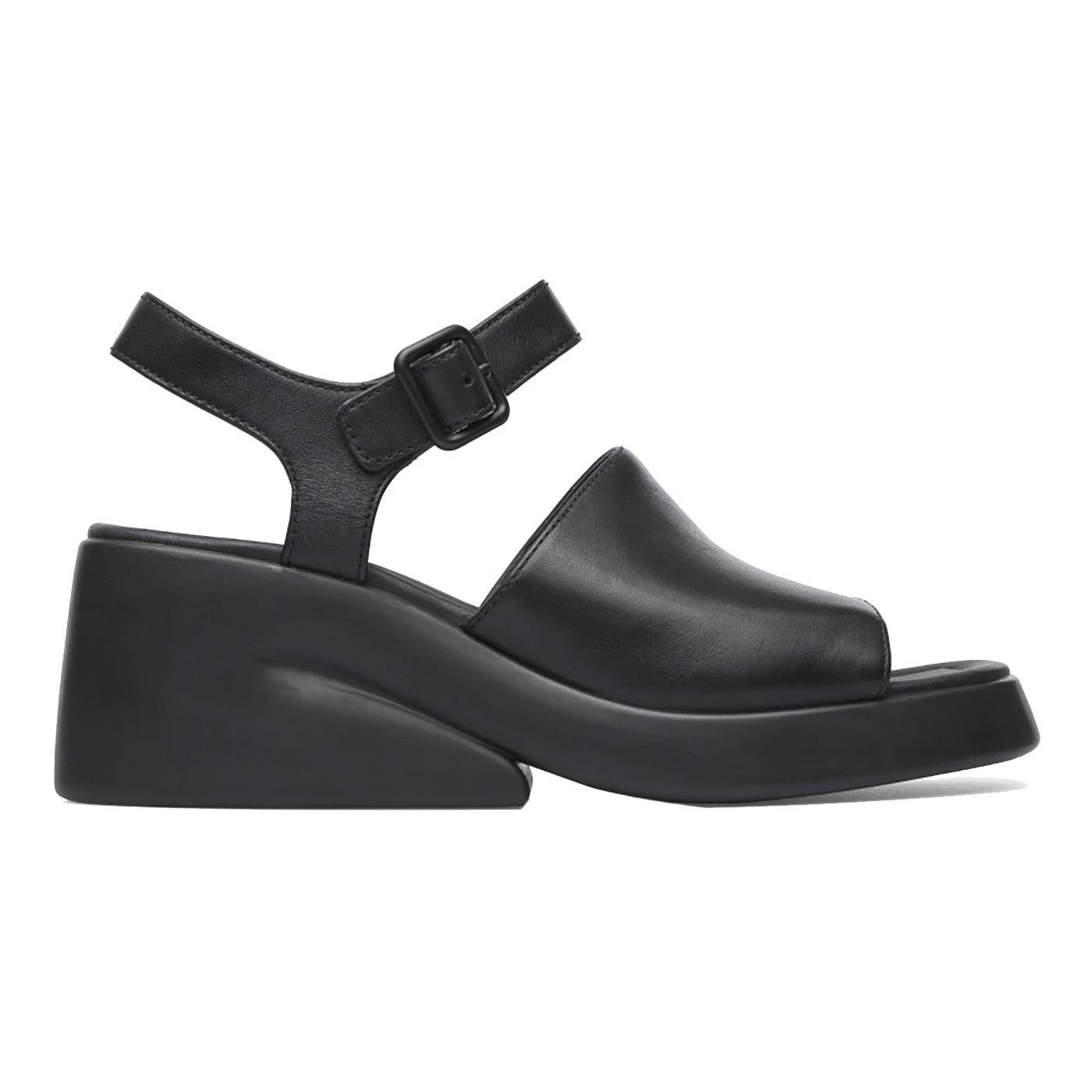Camper K201213-001 sandalo da donna in pelle nera