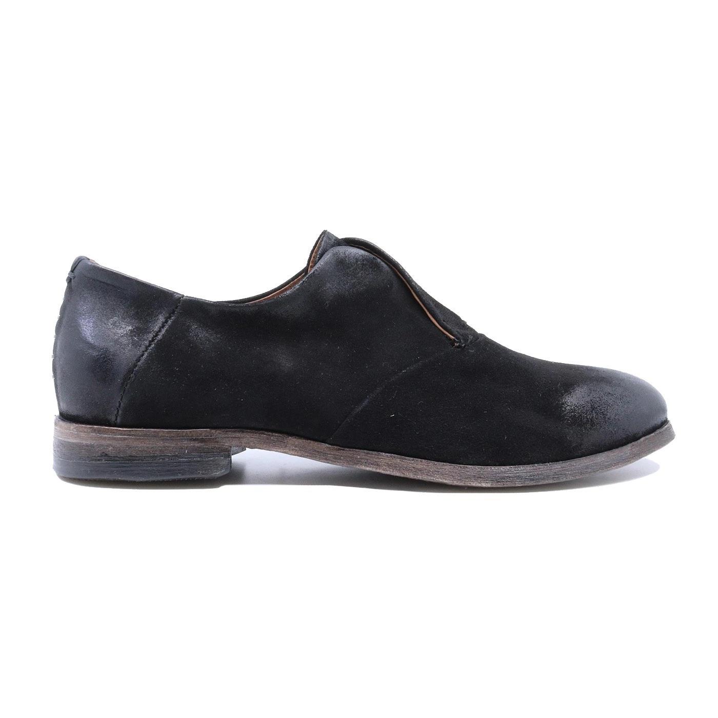 A.S. 98 U41104 scarpa da uomo in pelle nera