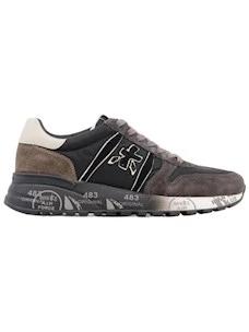 Premiata Lander 4951 sneaker da uomo in camoscio nero