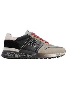 Premiata Lander 5362 sneaker da uomo in camoscio grigio